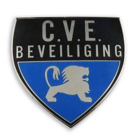 C.V.E. Beveiliging pin voorzijde